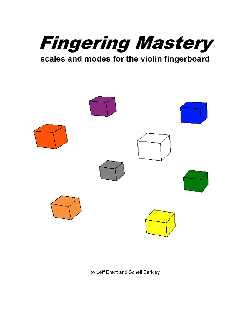 FINGERING MASTERY scales & modes for the guitar fretboard - Title Page �2012